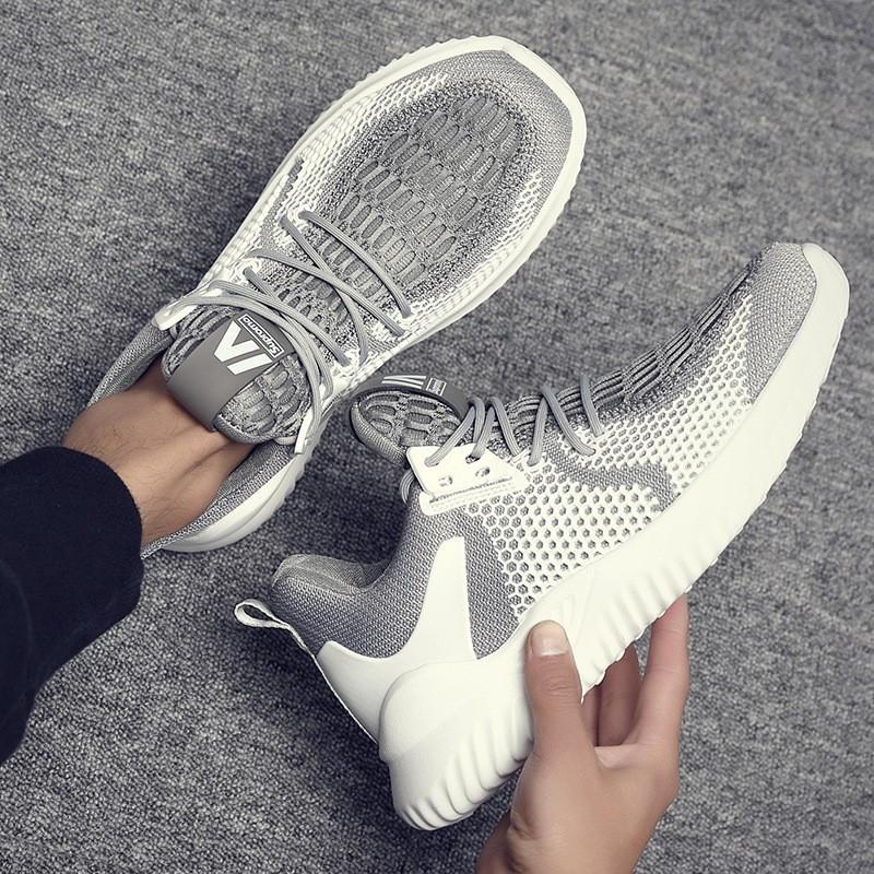 2020夏季新款百搭男士椰子鞋 时尚网纱透气休闲鞋 低帮潮流运动老爹鞋