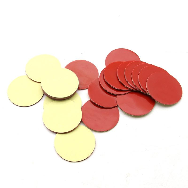 海绵圆形双面胶贴 汽车香水座摆件泡棉胶 可移无痕挂钩胶