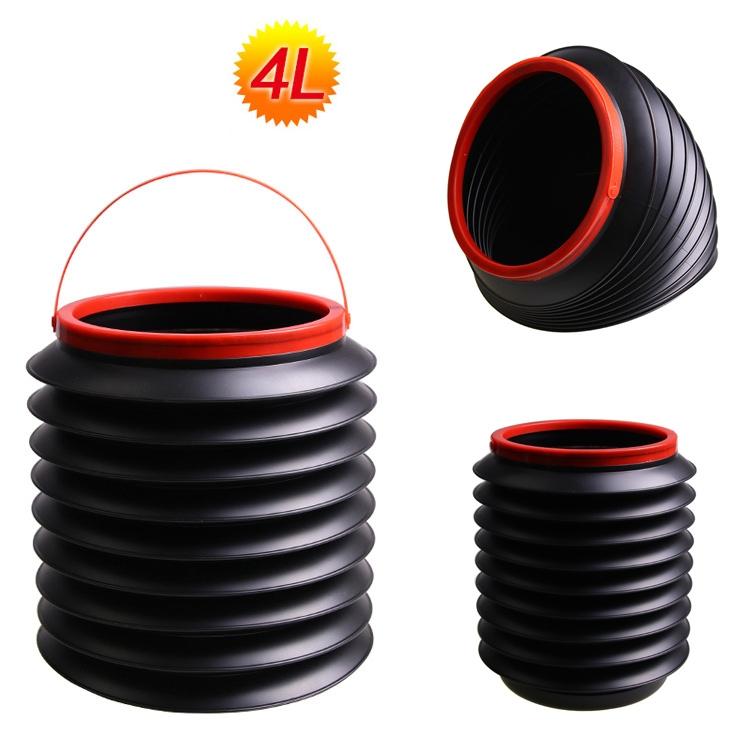 可折叠多功能收纳桶 水桶 杂物桶 魔术桶 钓鱼桶 伸缩置物箱 户外折叠整理收纳箱